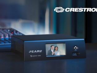 Crestron adds video Control Module for the Epiphan Pearl family of video encoders