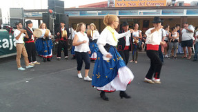 traditional dances at the fiesta