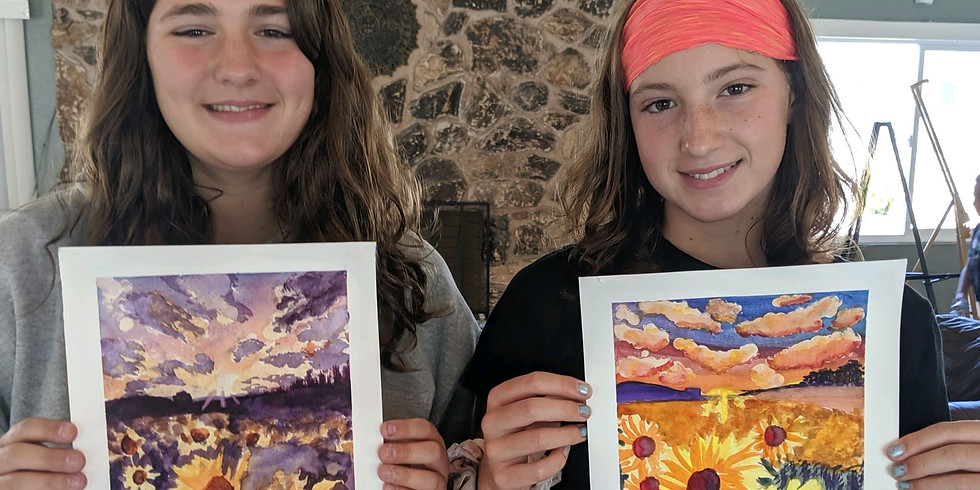 Ms Debbie's Art Masters Summer Art Camp 1