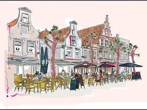 Botermarkt, Haarlem.