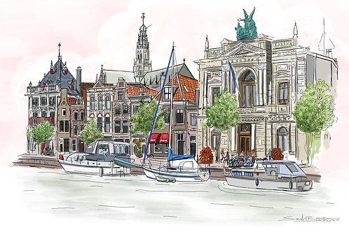 Het Spaarne, Haarlem.