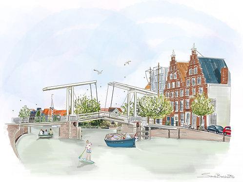 Gravestedebrug, Haarlem.