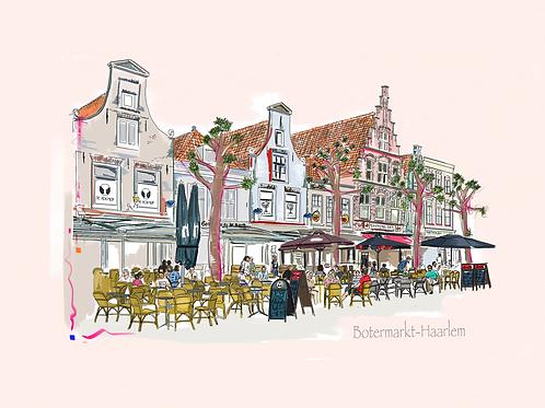 Botermarkt te Haarlem