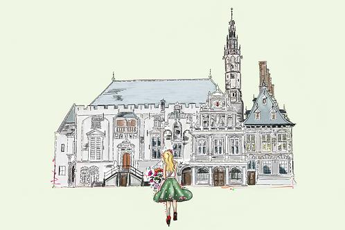 Stadhuis te Haarlem