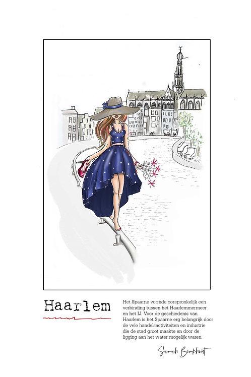 Spaarne te Haarlem