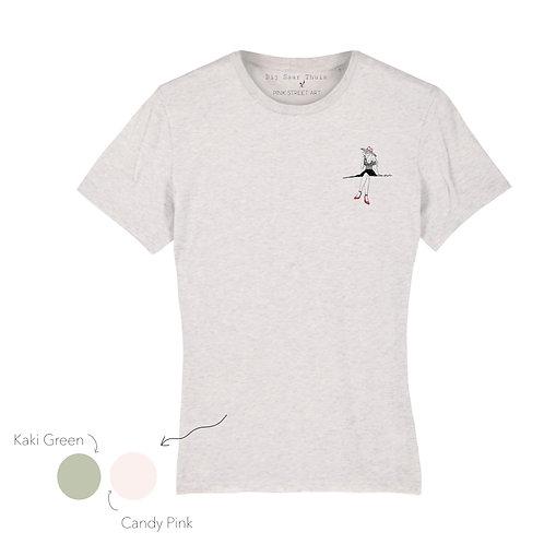 Shirt, Rosé all day (Grey)