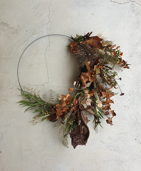 Custom Dried Wreath