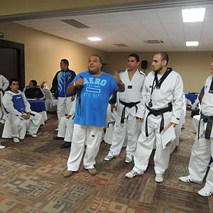 Curso Metodología del Taekwondo impartido por Carlos Banasco.