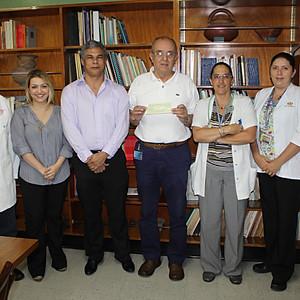 Donación de la Federación Costarricense al Hospital Nacional de Niños, área de E