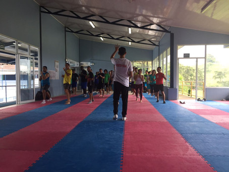 Profesores de la Zona Sur apuntados con el Taekwondo del Programa Talenticos