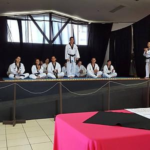 Ceremonia Cinturones Negros Descentralizado San Pablo, Heredia.