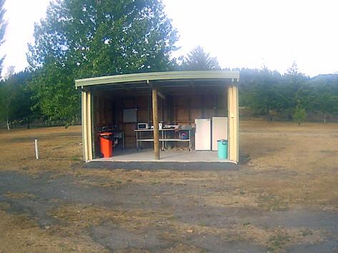 Mountain Valley kitchen area