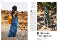 FAZ Modemagazin 'Blühen im Verborgenen'
