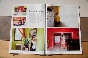 'Romanidesign' FAZ Modemagazin