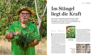Lafer Journal 'Kräuterkoch Peter Franke'
