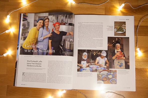 'Osmans Töchter' Lafer Magazin