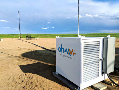 Case Study: Alberta producer conserves stranded gas and eliminates flare with Ohmm datacenter
