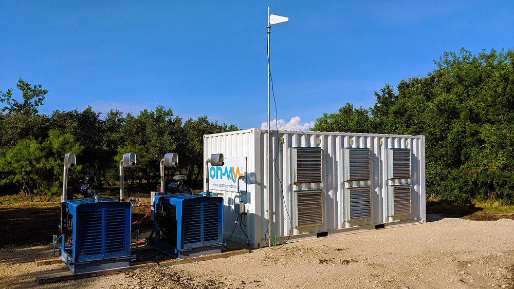 Ohmm bitcoin mining datacenter stranded natural gas well Texas