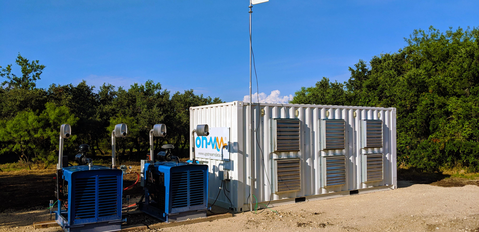 Custom Ohmm Datacenter deployed to central Texas