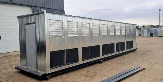 8'x40' Hash Hut 900 kW rated