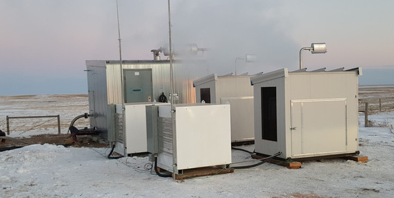 Customer in southern Alberta deploys two Ohmm Mini cubes