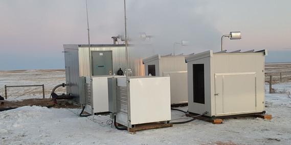Customer in southern Alberta deploys two Ohmm Mini cubes