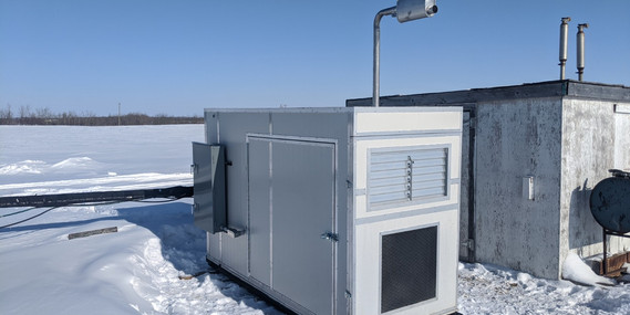 First commercial Hash Generator feeds on waste gas at a mature oil well.