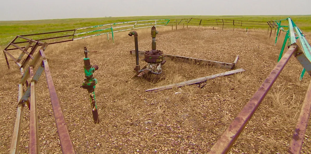 Orphaned natural gas well alberta