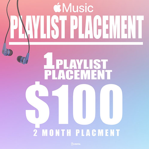 Apple Music Playlist Placement