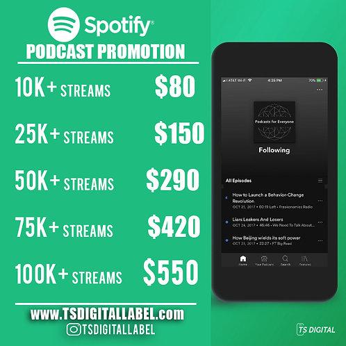 Spotify Podcast Promotion