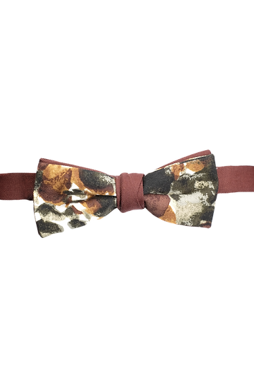 Abstract Print Bow Tie