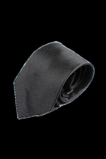 黑色絲綢領帶