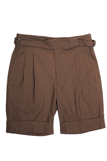 HIATUS Gurkha Shorts Brown