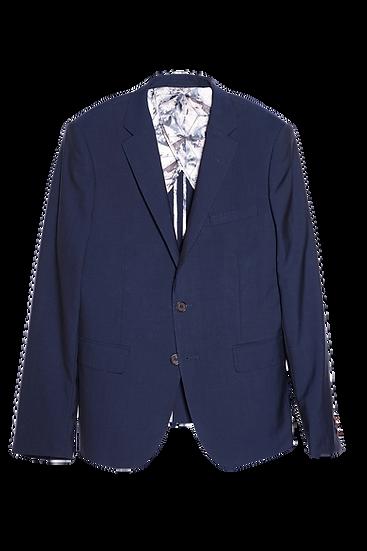 深藍色西裝外套