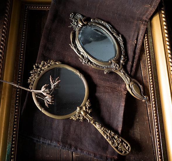 歐洲雕花鏡子