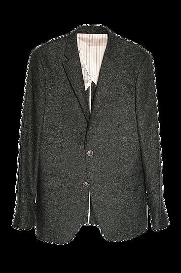 Lightweight Green Donegal Tweed Blazer