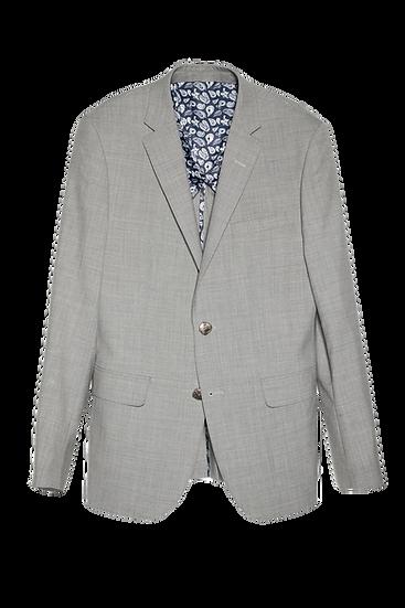 淺灰色西裝外套