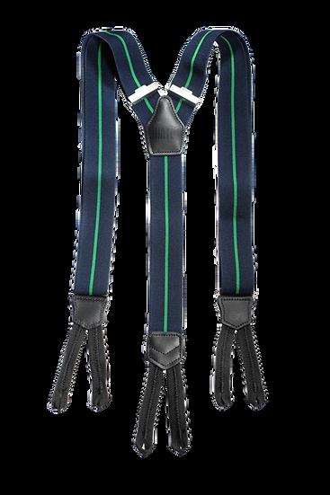 Navy Stripe Braces