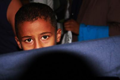 Shy Egyptian Boy