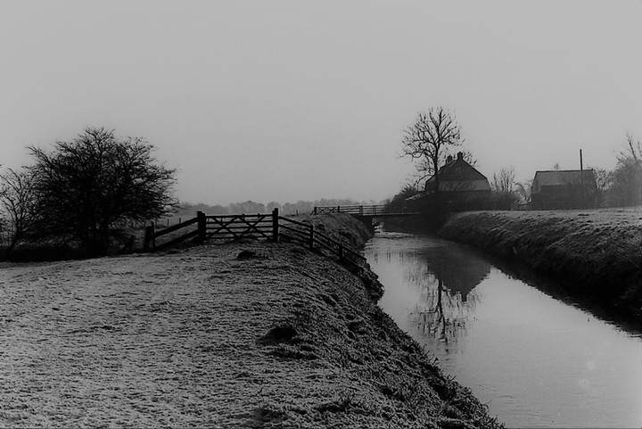 The River Brue at Meare