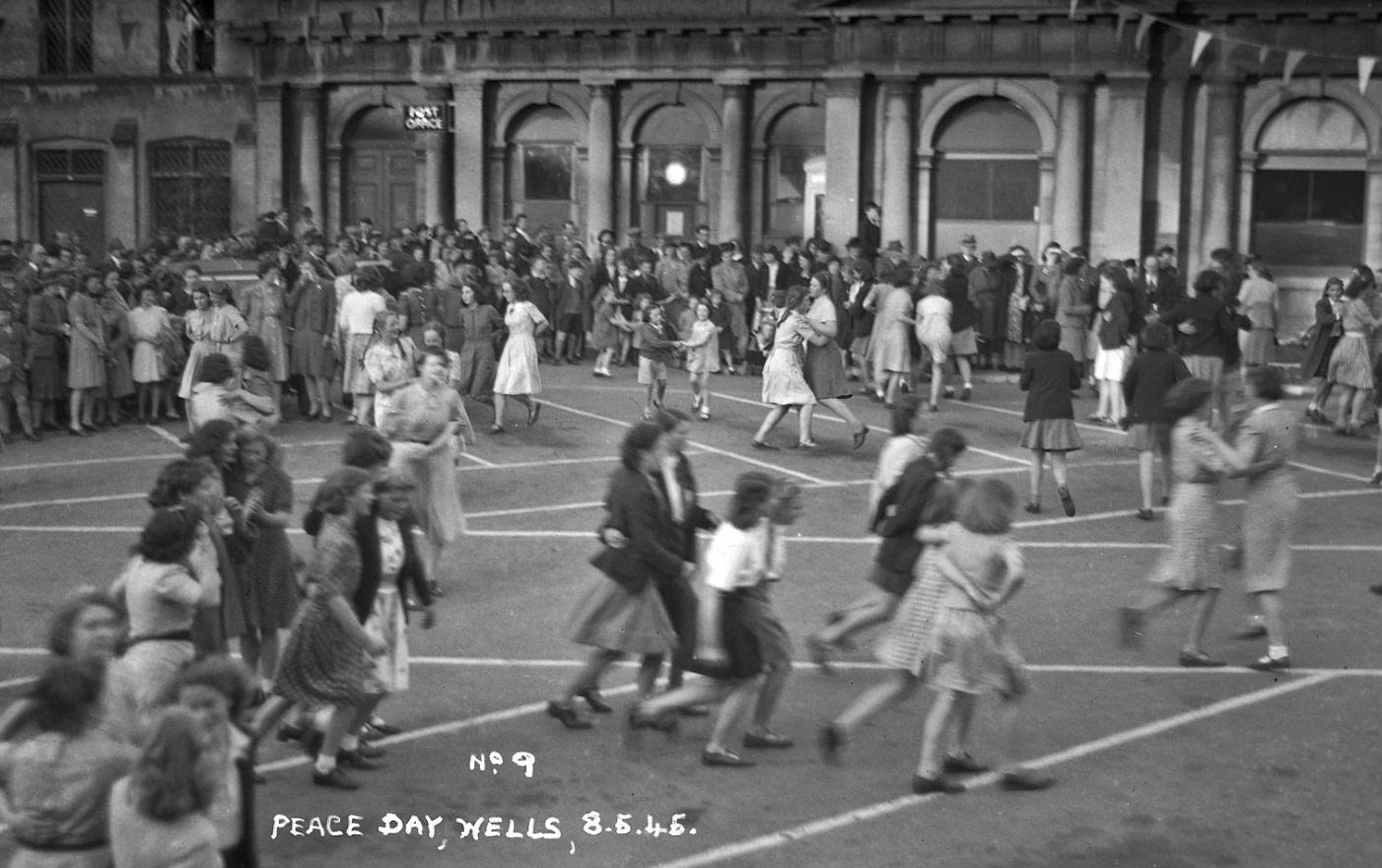 VE Day in Wells