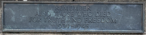 Inscription on the Memorial