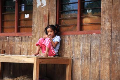 Little Girl in Nepal