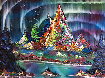 Joeby Slight of JoebysArt is a local artist based in Wells who paints mountain wilderness and aurora landscapes.  Utilising oil on canvas, he first started painting in November of 2018, inspired by famous American TV Artist, Bob Ross. Adopting Bob's 'wet on wet' technique and relaxed approach to painting, he went on to start JoebysArt in March of 2020. During the first national lockdown Joeby produced over 130 paintings, all of which can be seen in this exhibition.   Joeby's limited edition paintings come in various shapes and sizes, depicting dynamic landscapes ranging from fiery autumn scenes and golden sunsets to frozen tundras and dazzling midnight auroras.  Normal museum entry fee applies.