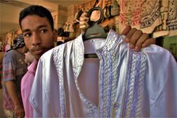 'Egyptian Cotton Shirts, Sir'