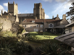 The Cathedral from the Walled Garden