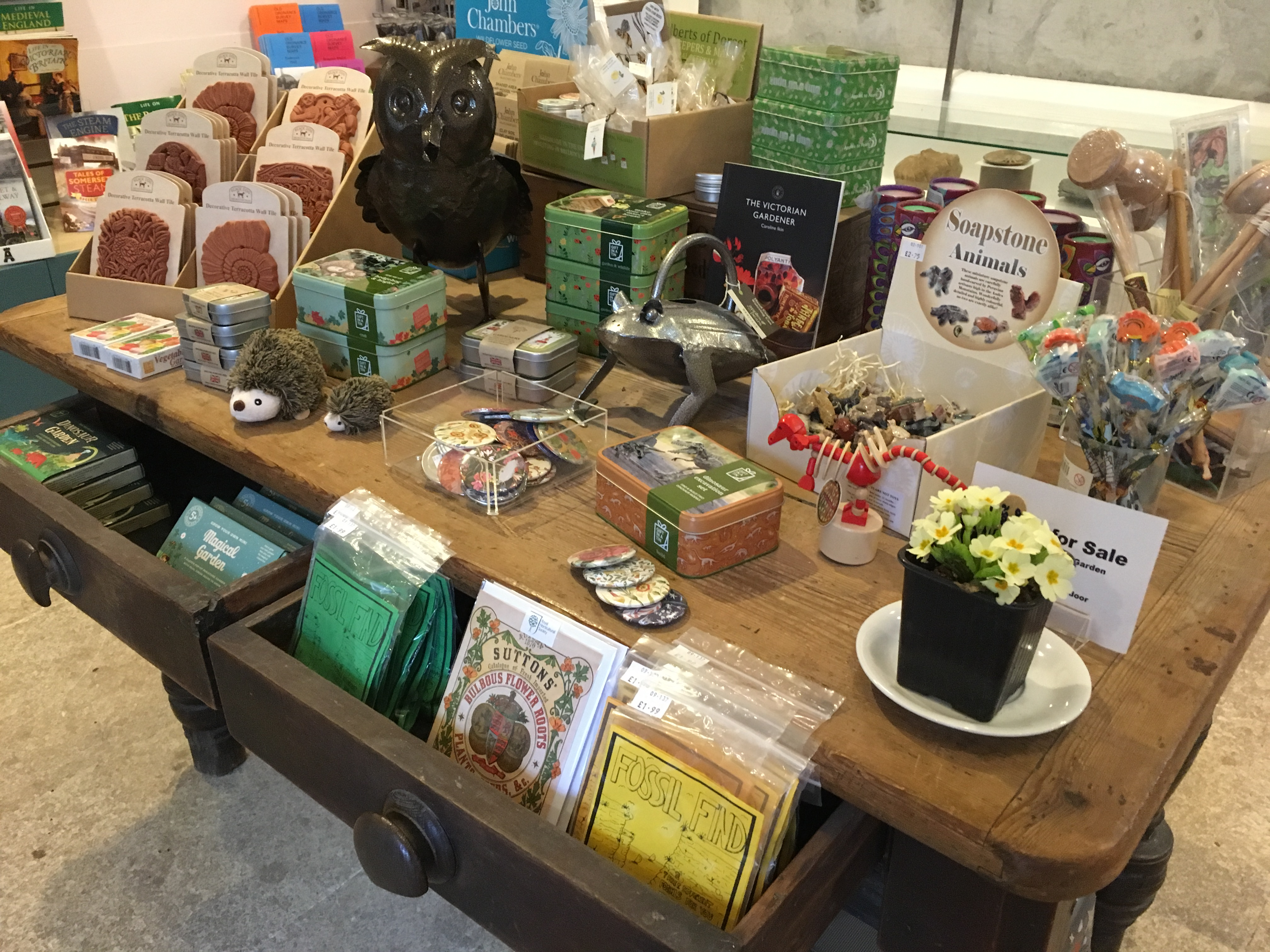 A Museum Shop Display