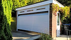 Carteck Sectional Door, GSW40, 42mm insulation, Double Skin,  Centre Ribbed Design, Light Grey RAL7035, fixed top pannel