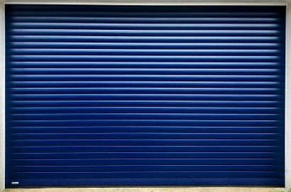 SWS roller door blue