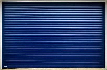 SWS roller door blue